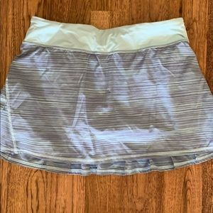 Lululemon running skort size 10 Tall